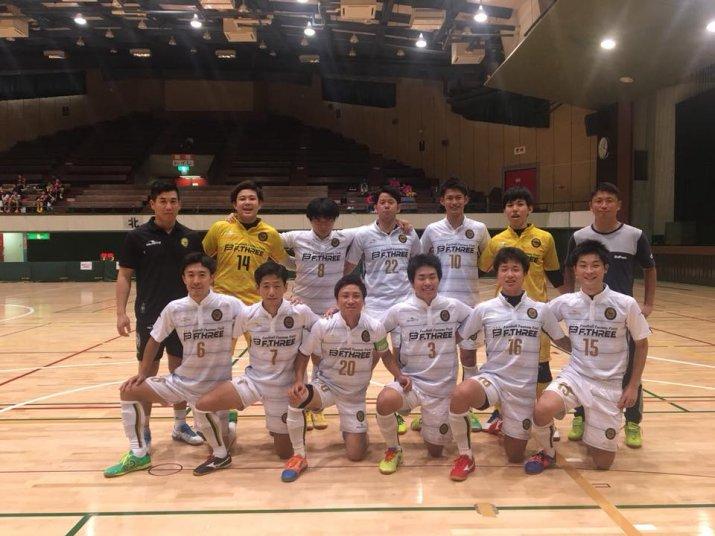 北信越フットサルリーグ2018【1部】第5節 vs新潟モナルカ