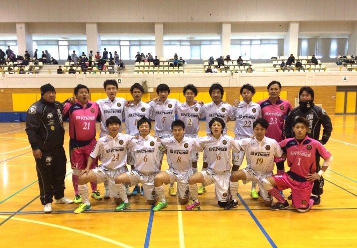 全日本フットサル選手権新潟県大会決勝ラウンド 1日目