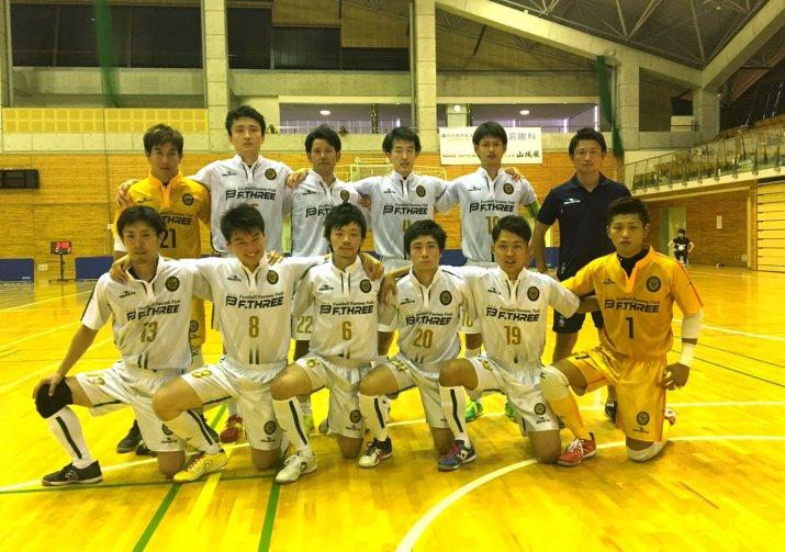 北信越フットサルリーグ第5節 vs 新潟モナルカ