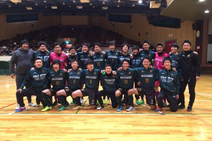第22回 全日本フットサル選手権新潟県大会決勝ラウンド 1試合目