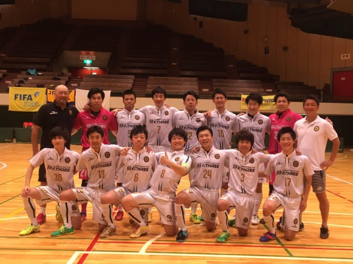 北信越フットサルリーグ2017【2部】第4節 vs レジスタ長岡