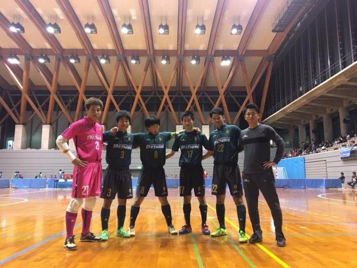 北信越フットサルリーグ2017【2部】後期上位リーグ 第1節 vs ASSIST FUTSAL CLUB