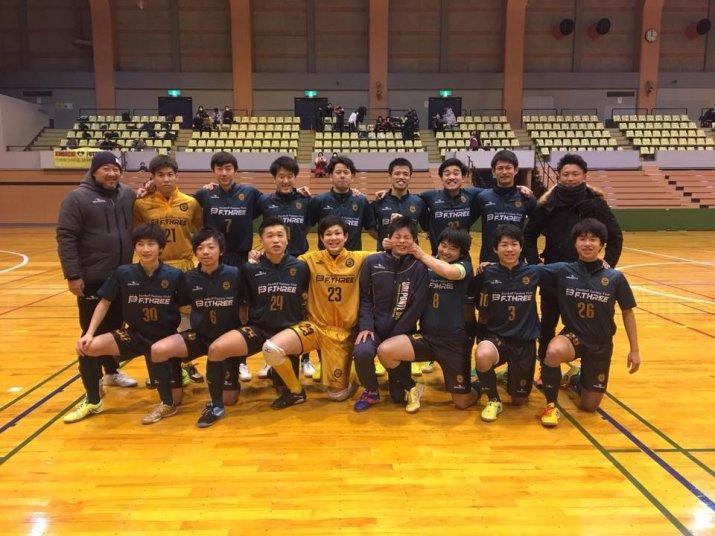 北信越フットサルリーグ2017【2部】後期上位リーグ 第3節 vs レジスタ長岡