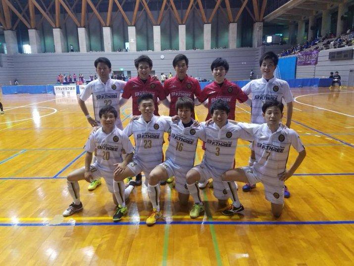 北信越フットサルリーグ2018【1部】第1節 vsグランドルフ金沢